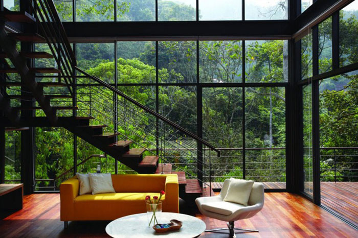 73517597438 Gorgeous deckhouse in the woods Designed by Choo Gim Wah Architect