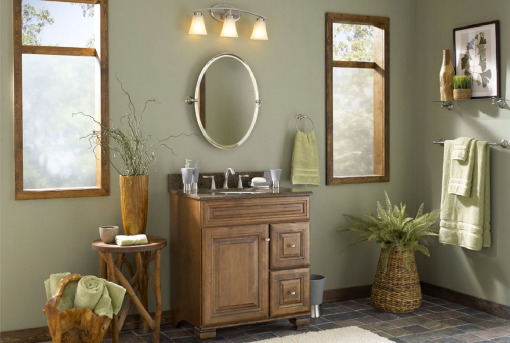 Image-5-11 Wood tones - Decorate with different wood colors