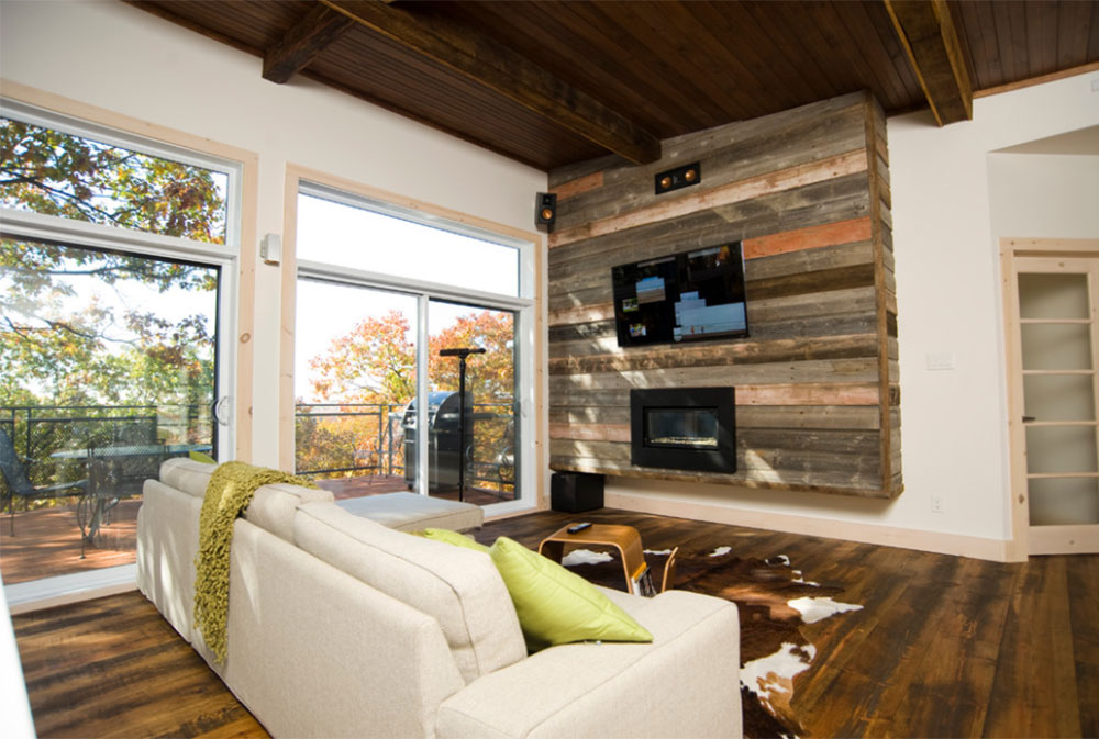 Image-11-11 Wood tones - decorate with different wood colors