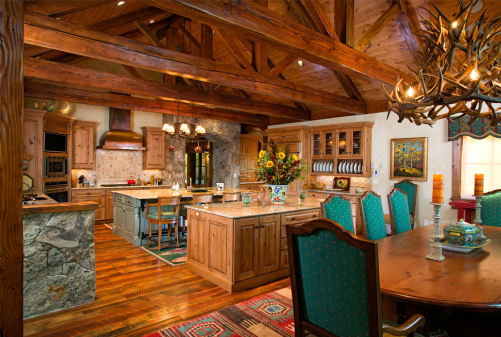 Image-15-11 Wood tones - How to decorate with different wood colors