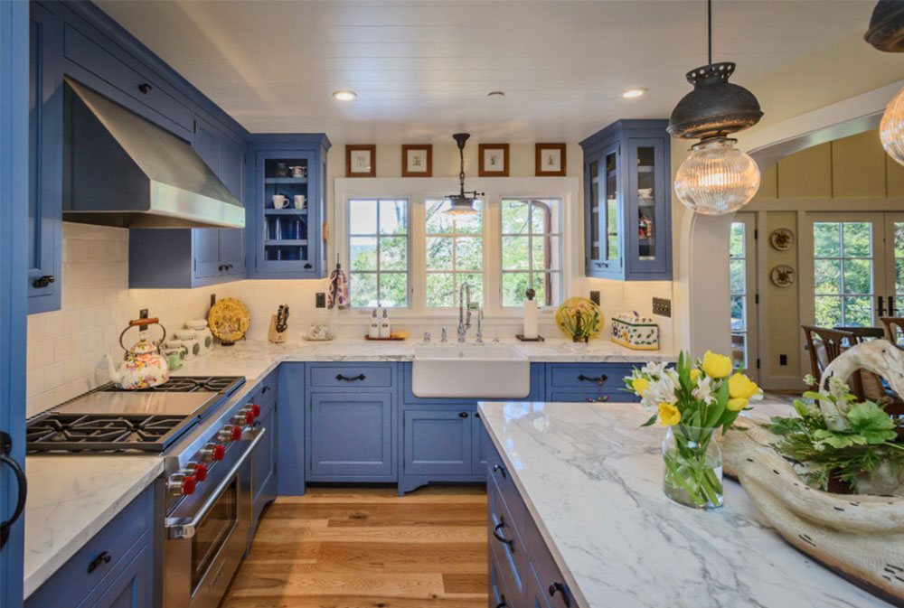 Image-2-15 Country kitchen - design, style and ideas