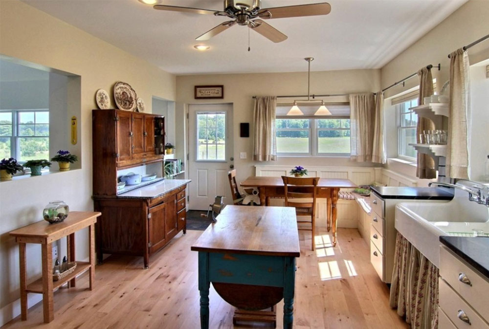 Image-3-15 Country kitchen - design, style and ideas