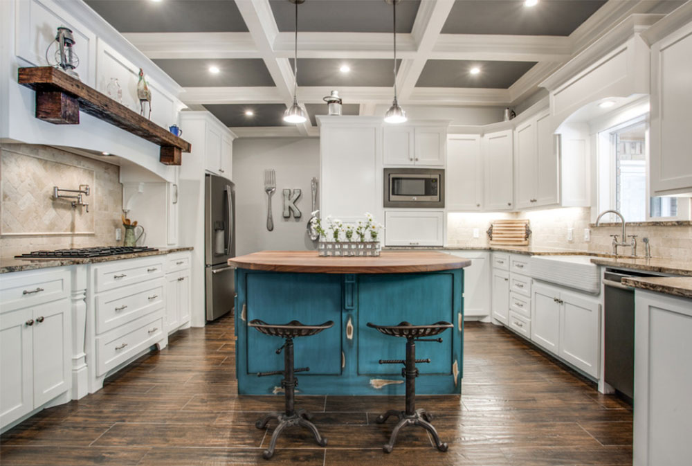Image-9-15 Country kitchen - design, style and ideas