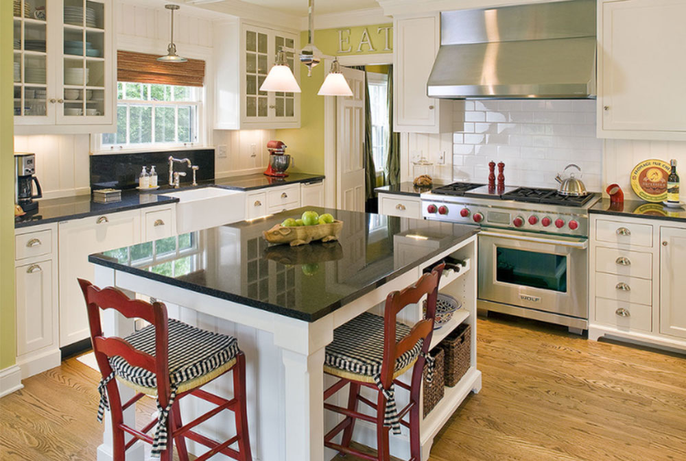 Image-10-15 Country kitchen - design, style and ideas
