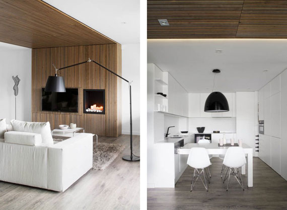 b5 Minimalist apartment with lots of bookshelves designed by Susanna Cots in Barcelona