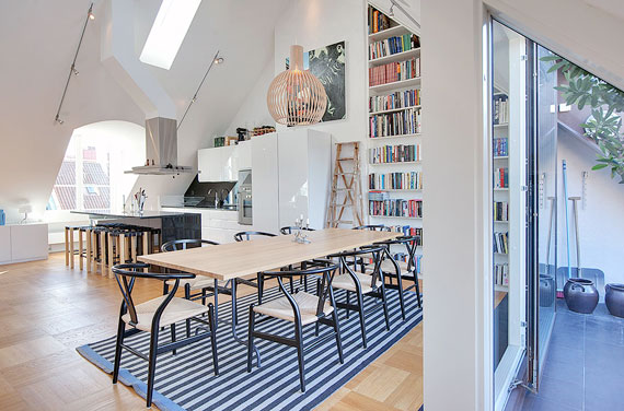 swe2 Luxurious Swedish style top floor penthouse in Östermalm, Stockholm