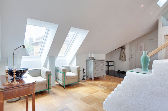 swe13 Luxurious Swedish style top floor penthouse in Östermalm, Stockholm
