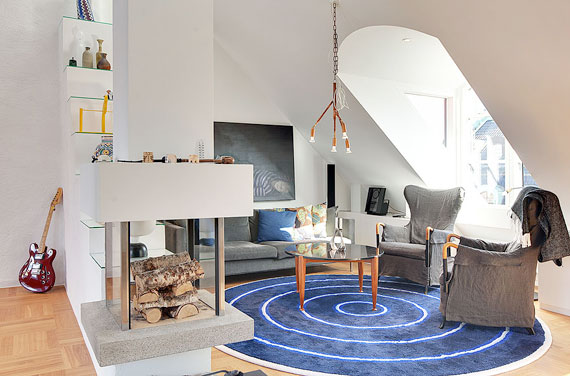 swe8 Luxurious Swedish style top floor penthouse in Östermalm, Stockholm
