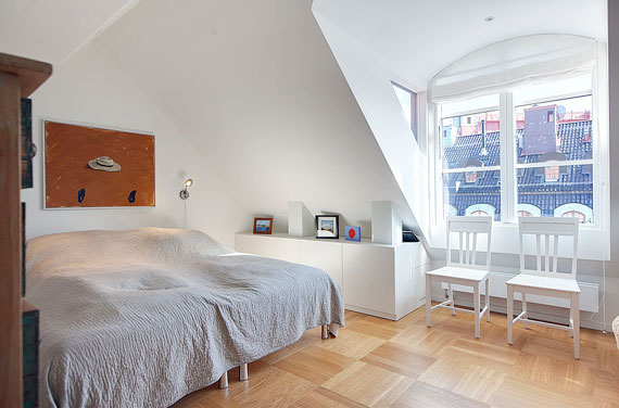 swe15 Luxurious Swedish style top floor penthouse in Östermalm, Stockholm
