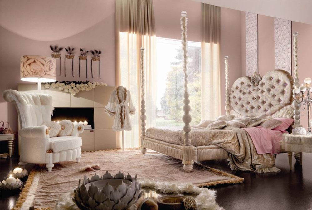 Image 2-5 princess bedroom ideas for little girls