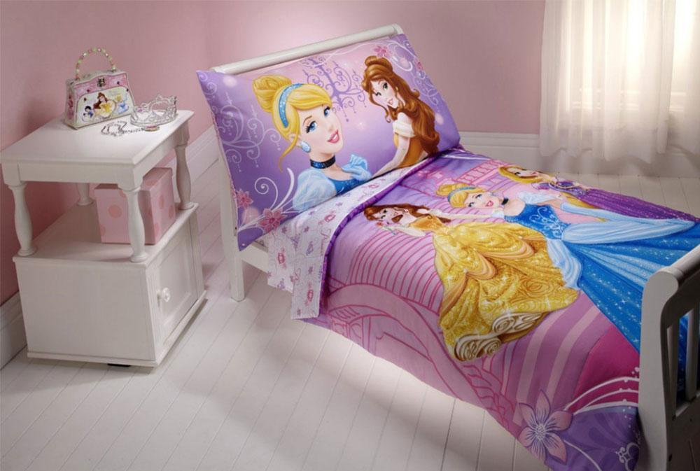 Image 4-5 princess bedroom ideas for little girls
