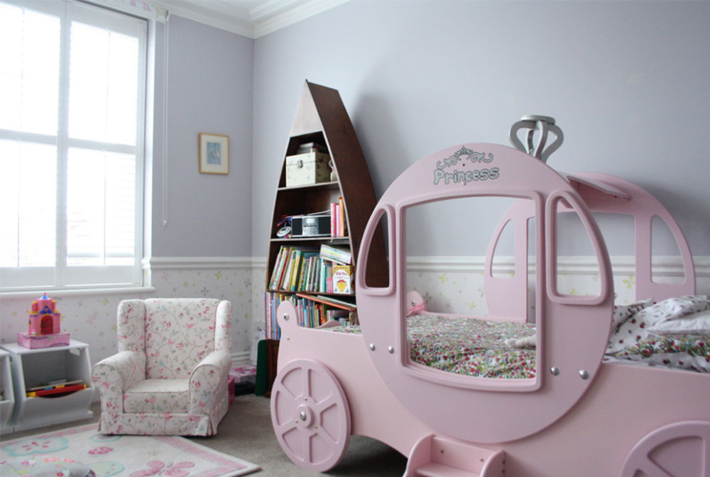 Image 6-5 princess bedroom ideas for little girls