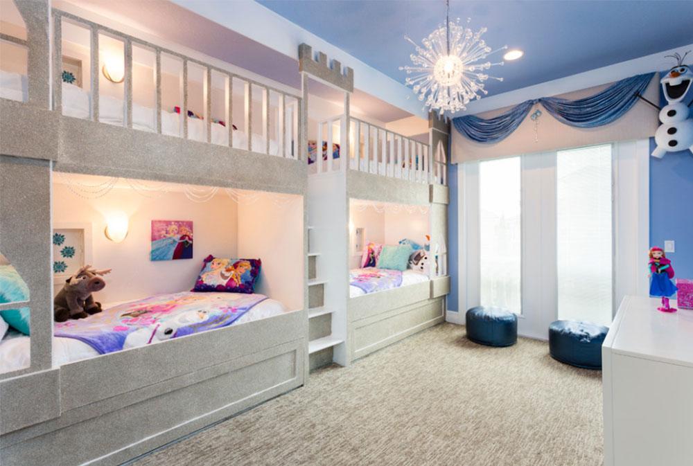 Image 9-5 princess bedroom ideas for little girls