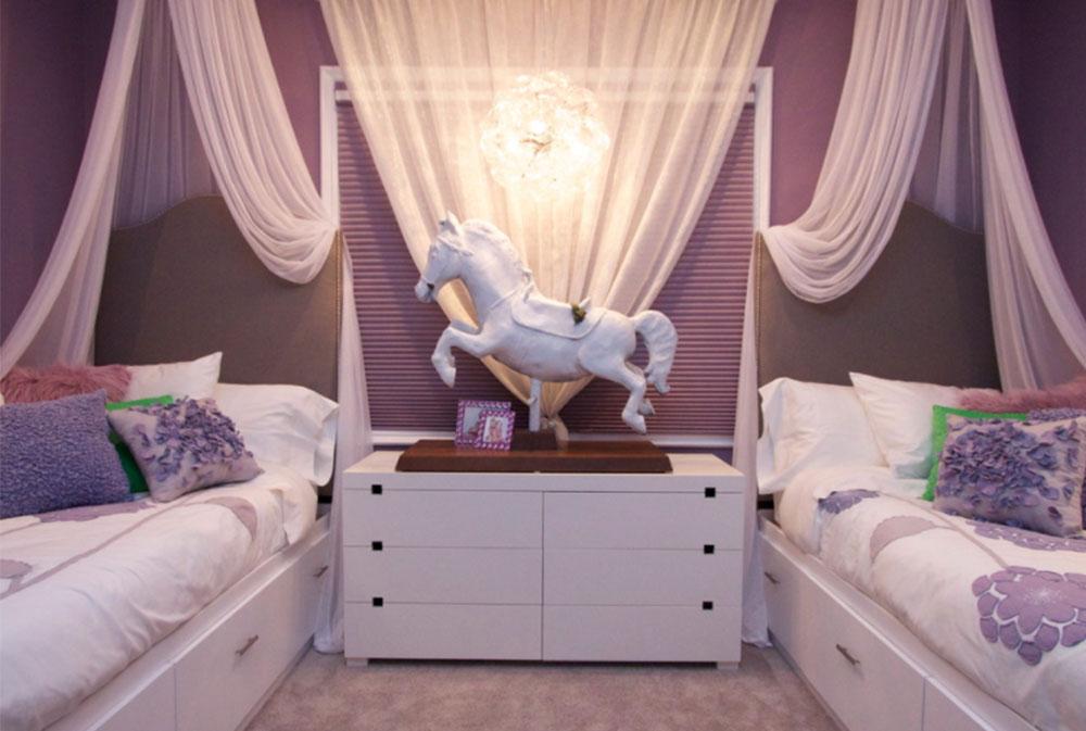 Image 11-5 Princess bedroom ideas for little girls