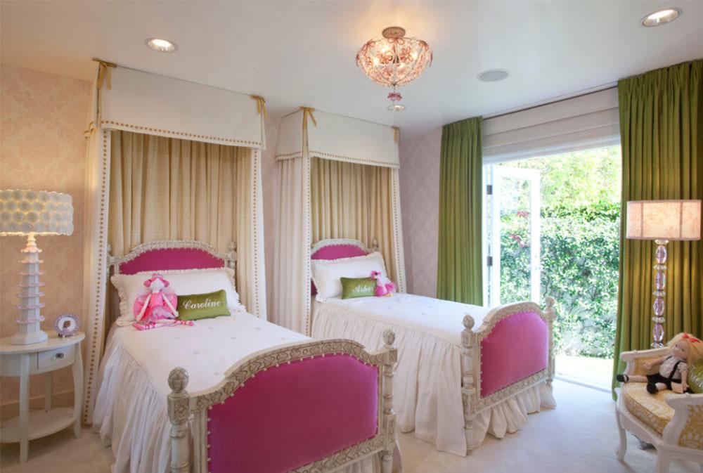 Image 16-1 Princess bedroom ideas for little girls