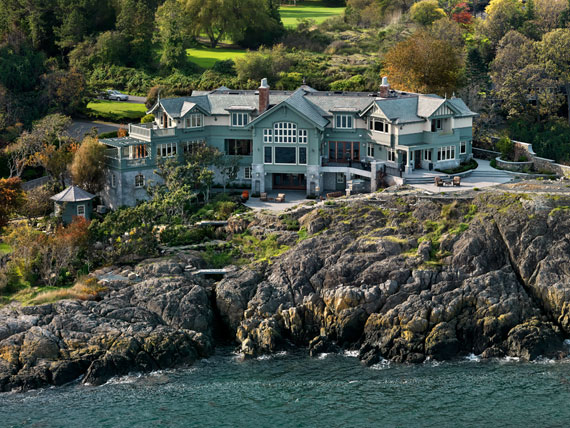 v4 Maclure-Style Ocean-Front Home Windward Oaks By Michael Knight