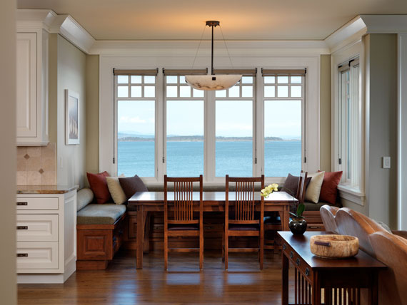 v15 Maclure-Style Ocean-Front Home Windward Oaks By Michael Knight