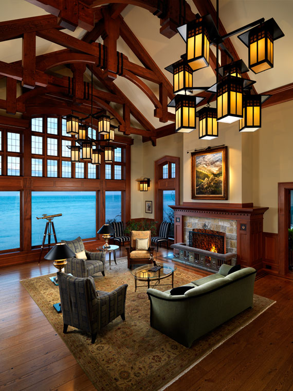 v22 Maclure-Style Ocean-Front Home Windward Oaks By Michael Knight