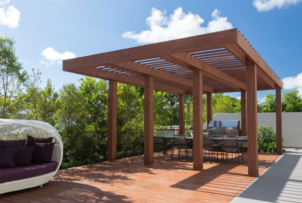 Image 4-5 Modern Pergola Ideas to Add to Your Home Design