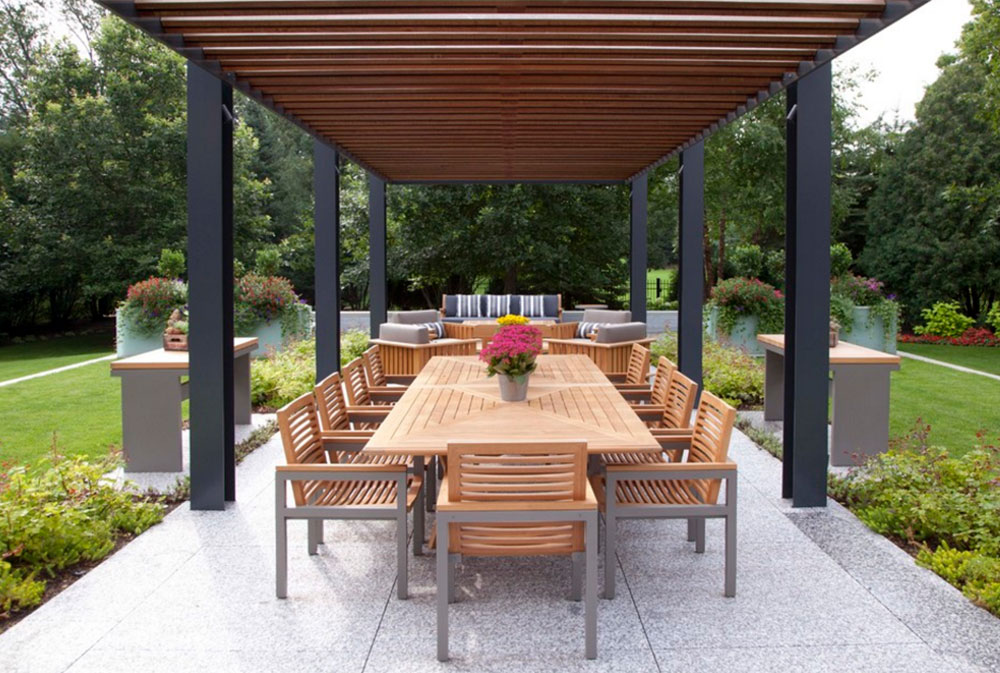 Image 5-5 Modern Pergola Ideas to Add to Your Home Design