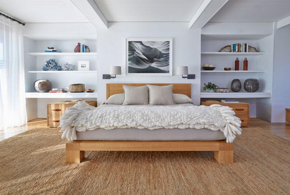 Image-6 bookcase headboard design ideas