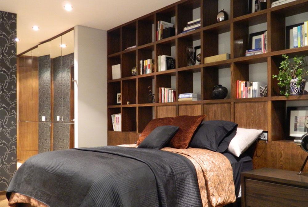 Image-10 bookcase headboard design ideas