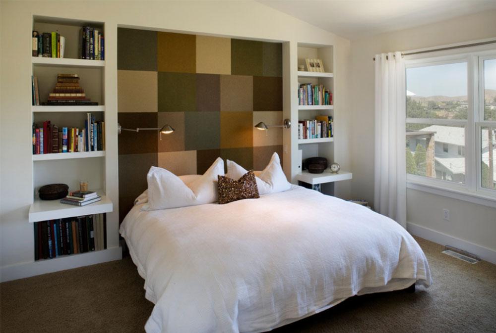 Image-14 bookcase headboard design ideas