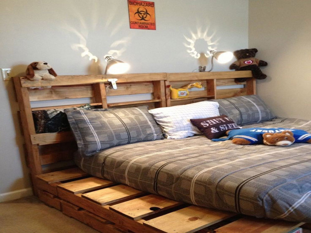 Great Pallet Bed Ideas To Brighten Your Room7 Great Pallet Bed Ideas To Brighten Your Room