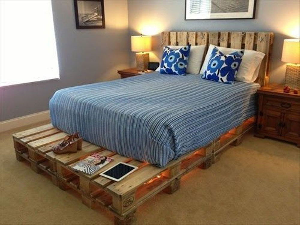 Great Pallet Bed Ideas To Brighten Your Room8 Great Pallet Bed Ideas To Brighten Your Room