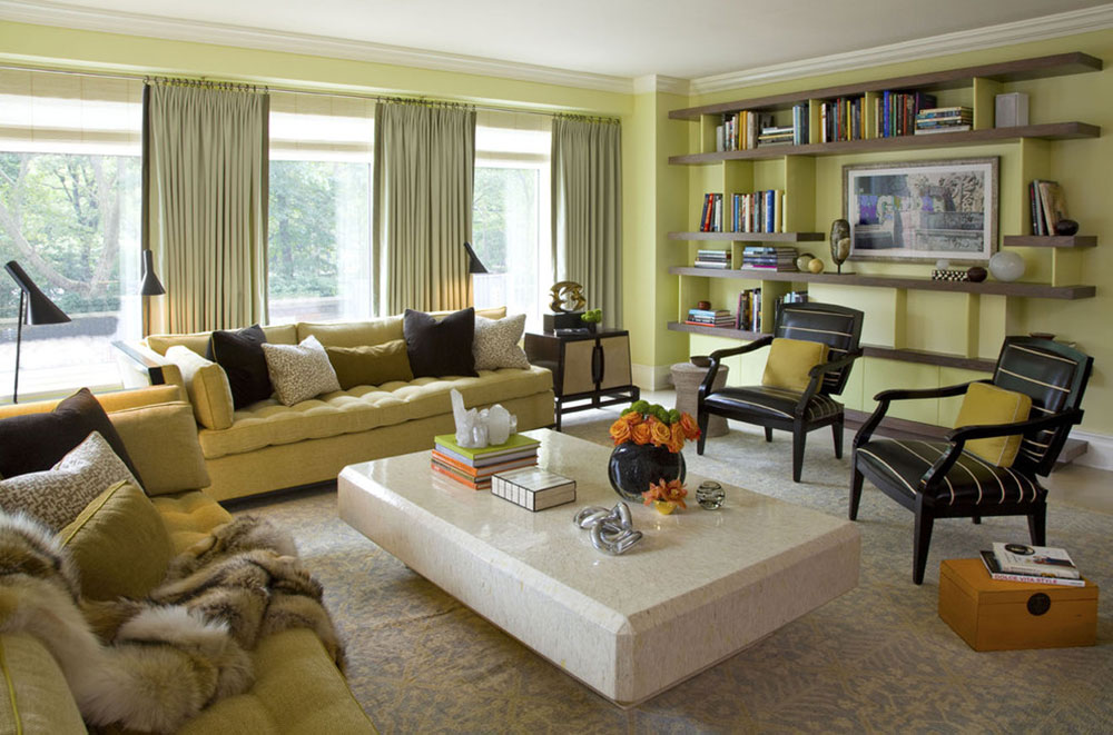 Have you tried Chartreuse Color6?  Have you tried the chartreuse color in your interior design?
