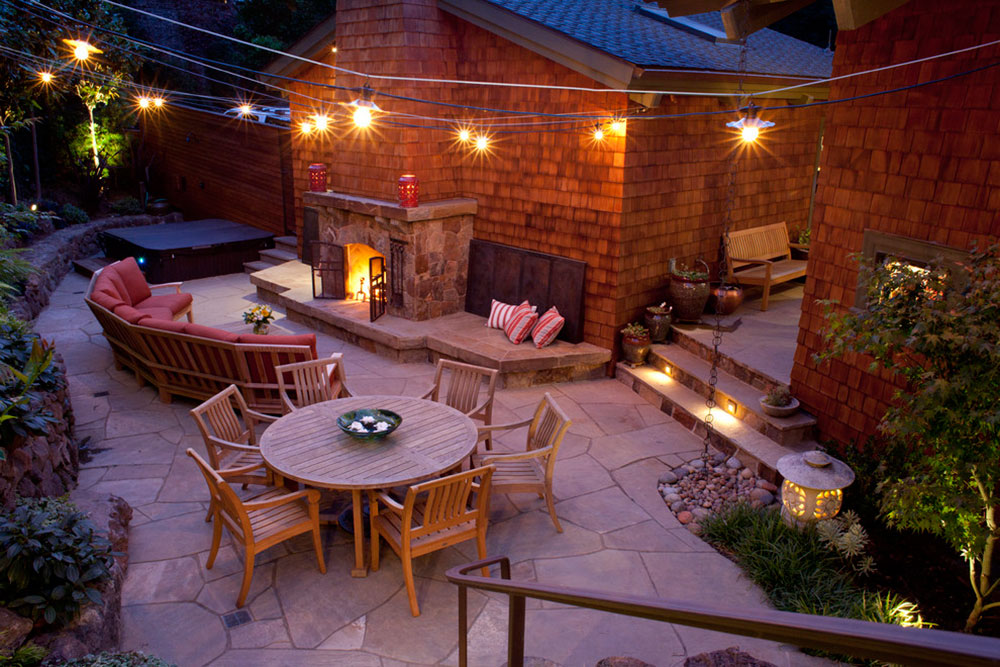 Bright-Your-Backyard-With-These-Deck-Lighting-Ideas11 Backyard Deck Lighting Ideas