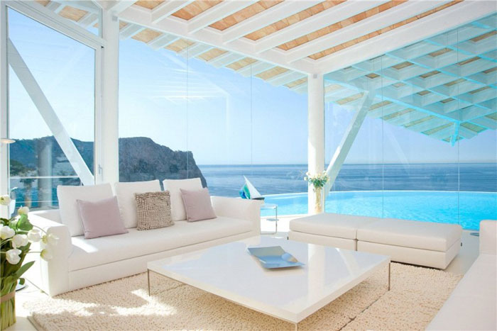 65790866138 Luxurious house with beautiful views and white rooms in Cala Marmacen