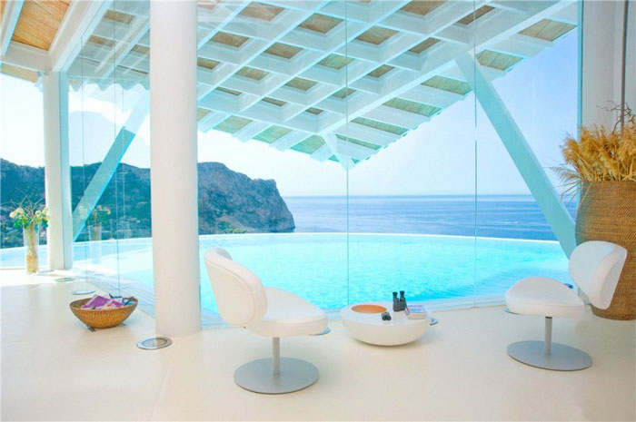 65790831684 Luxurious house with beautiful views and white rooms in Cala Marmacen