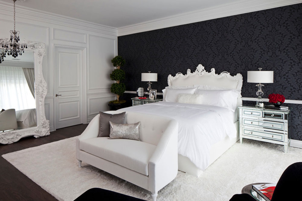 Always Elegant Black and White Bedroom Ideas7 Black and White Bedroom Ideas - Always Elegant