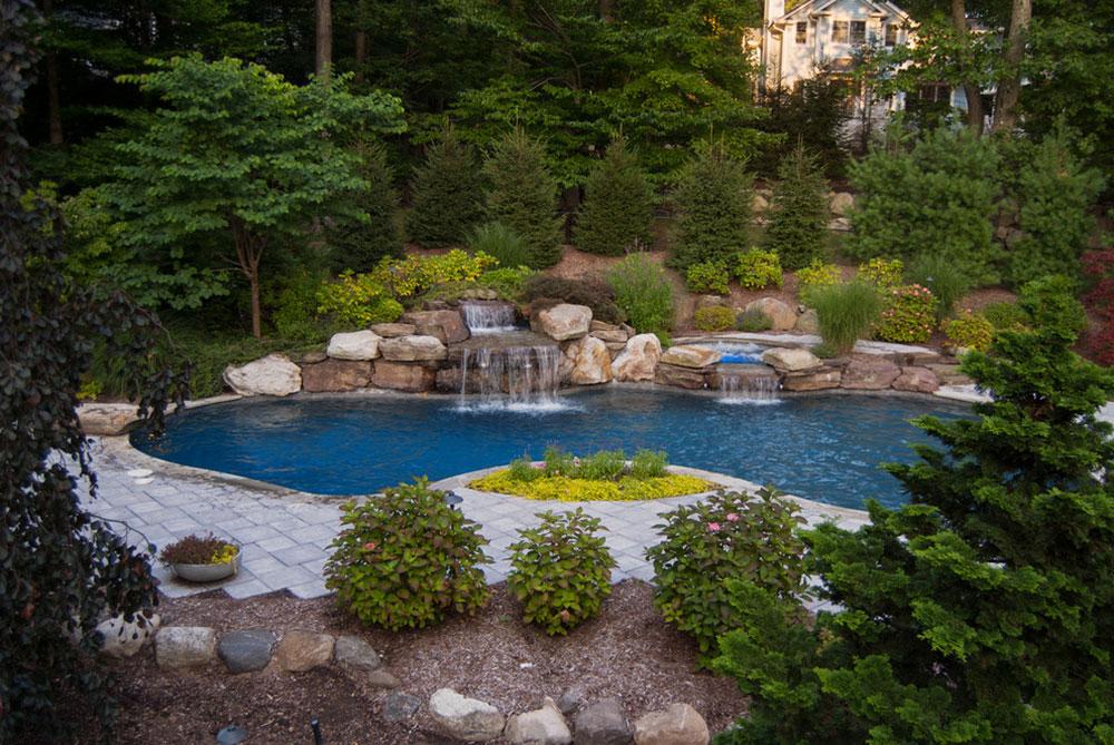 Enhance your living environment with backyard waterfalls14 backyard waterfalls ideas to inspire you