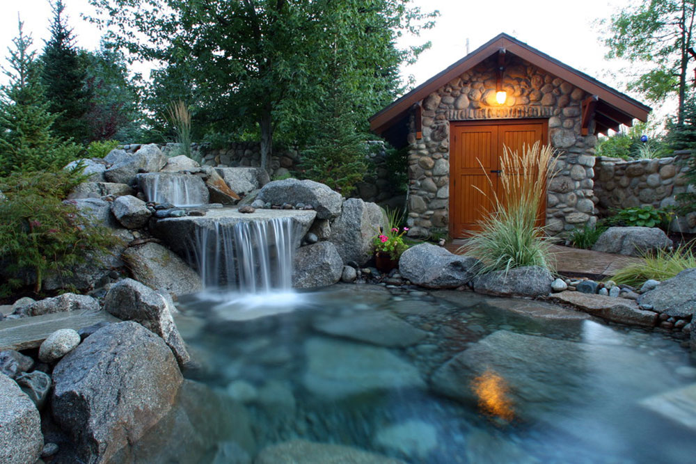 Enhance your living environment with backyard waterfalls12 backyard waterfalls ideas to inspire you
