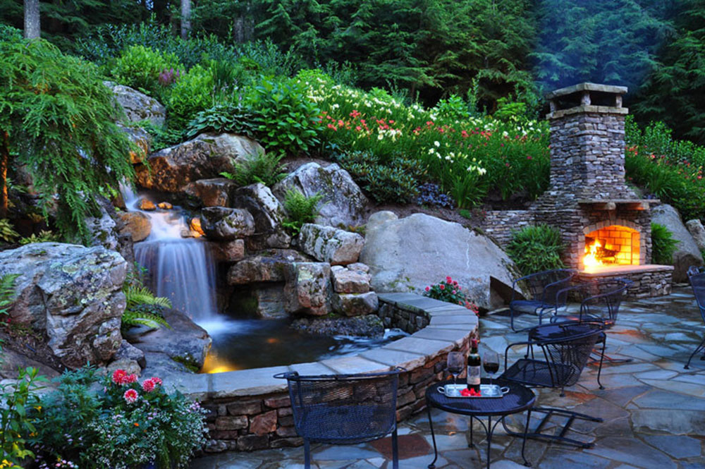 Enhance your living environment with backyard waterfalls13 backyard waterfalls ideas to inspire you