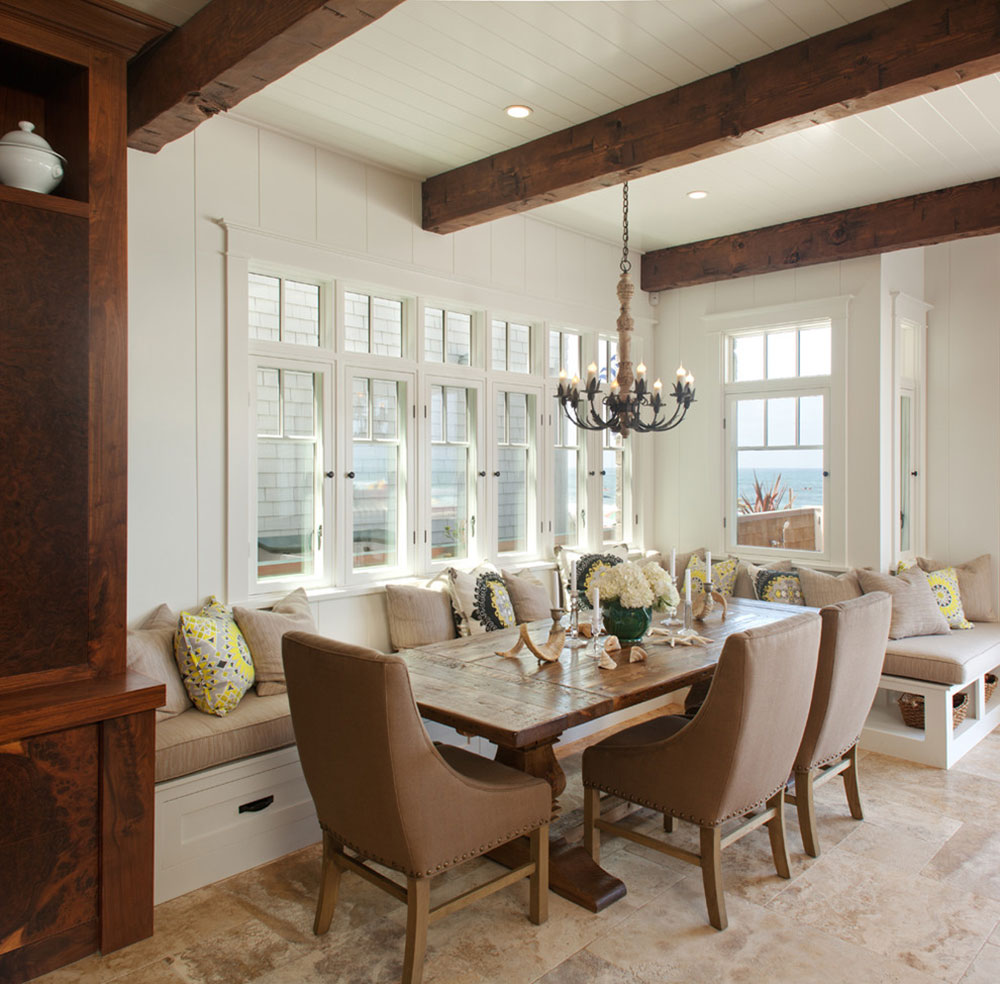 Kitchen table benches that bring the whole family together 14 kitchen table benches that bring the whole family together