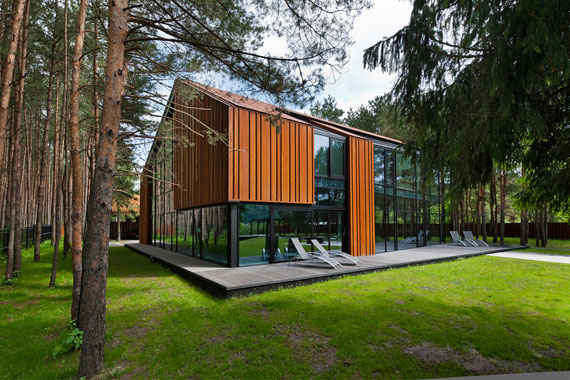 52215029192 Superbly designed house among the pines of Vilnius
