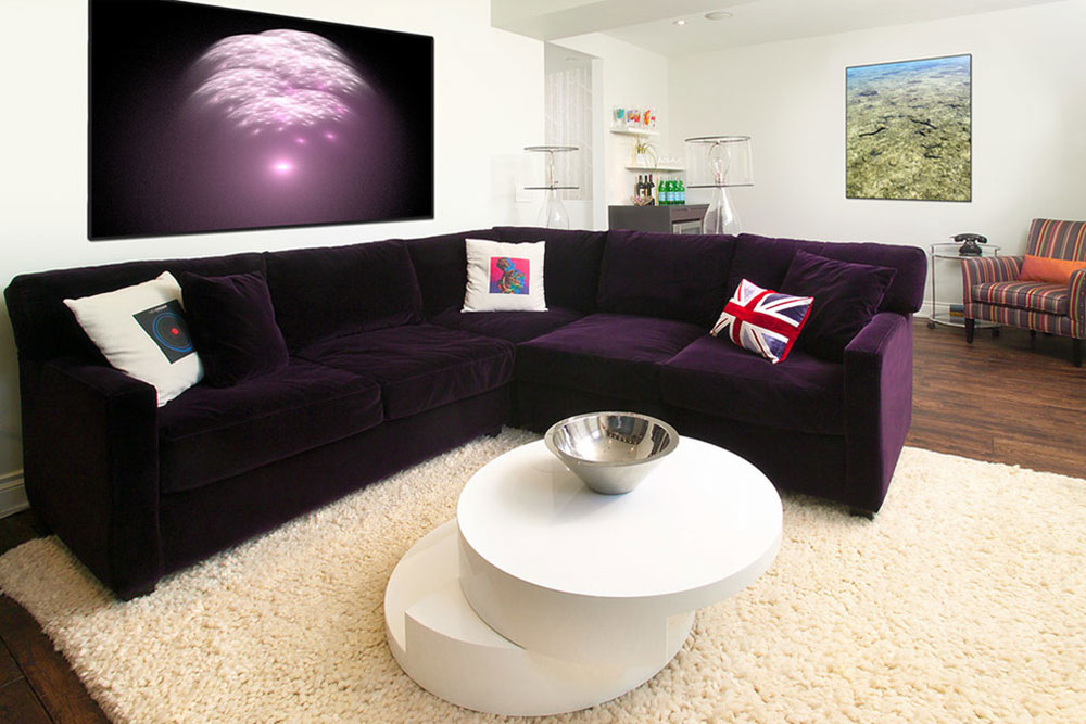 The-Experience-of-a-Purple-Couch-Is-Not-So-Bad7 Great Looking Purple Couch Design Ideas
