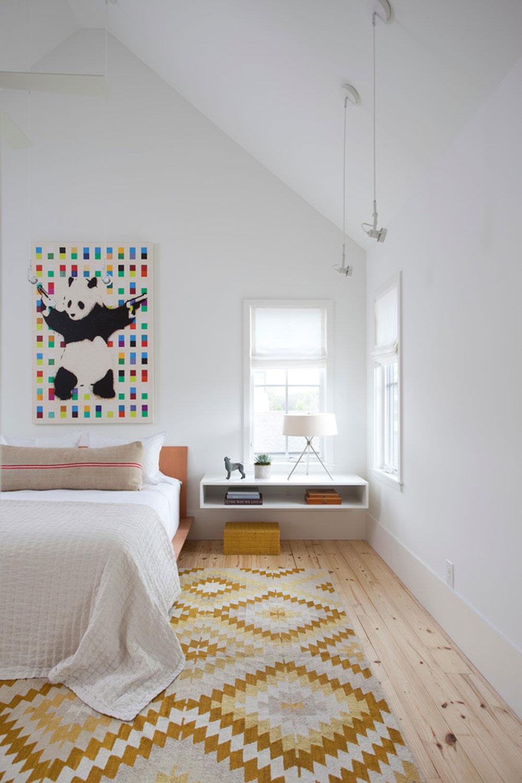 Wall-nightstand-helpful-and-wonderful7 Wall-mounted nightstand - helpful and wonderful