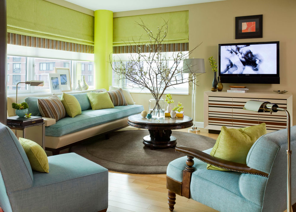 Brilliant shades of green for your living room 7 brilliant shades of green for your living room