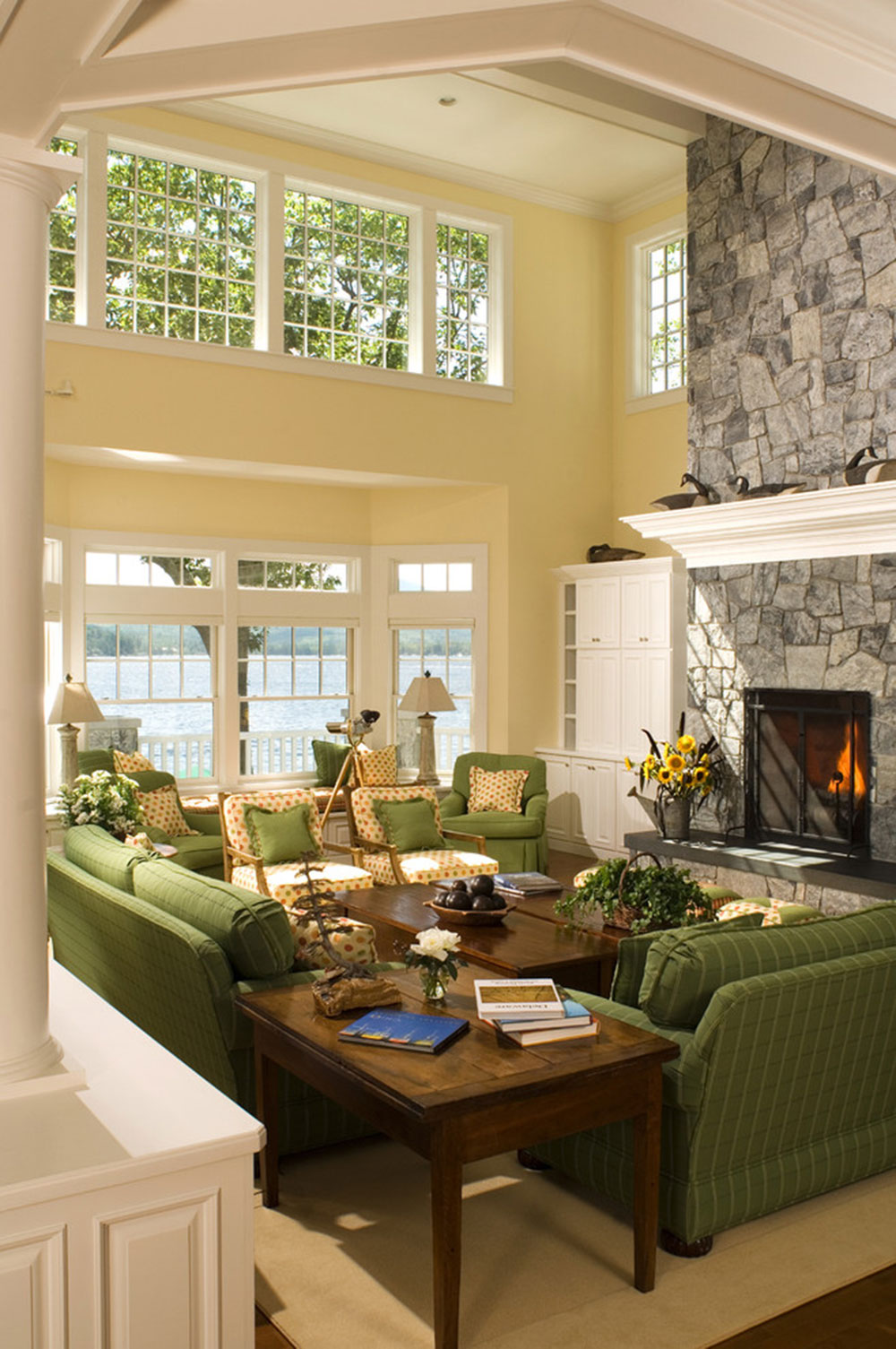 Brilliant shades of green for your living room4 Brilliant shades of green for your living room