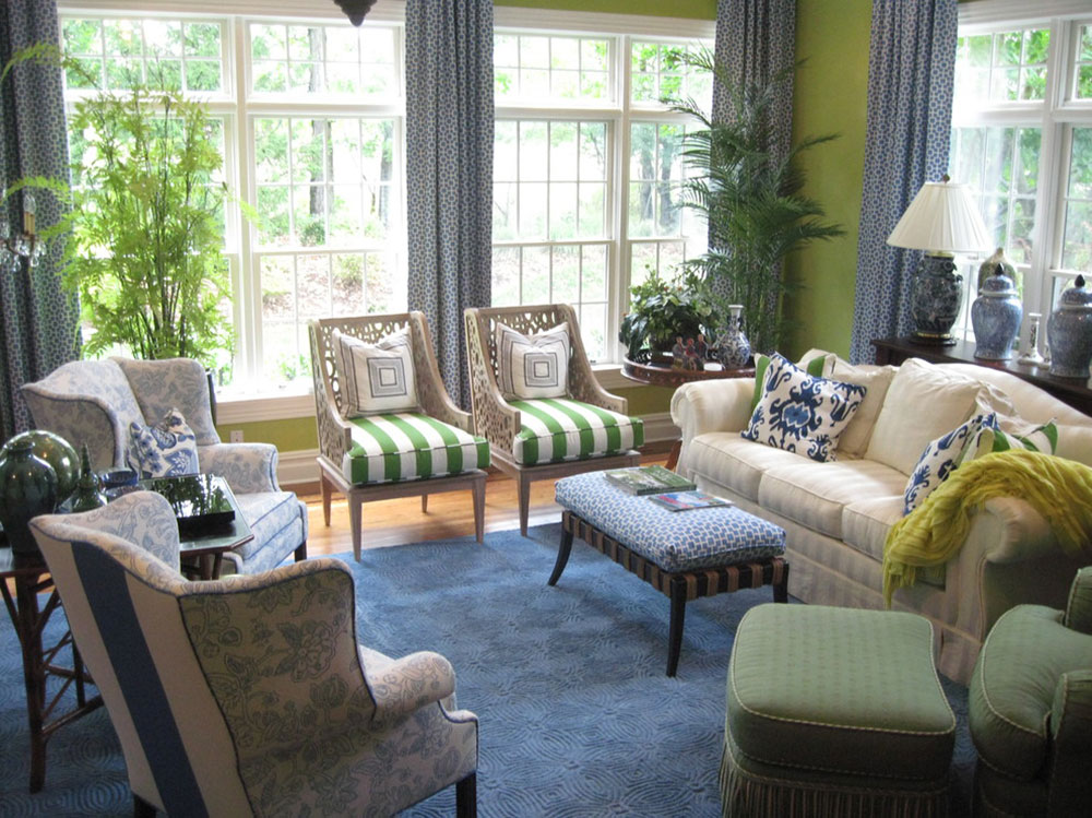 Brilliant shades of green for your living room5 brilliant shades of green for your living room