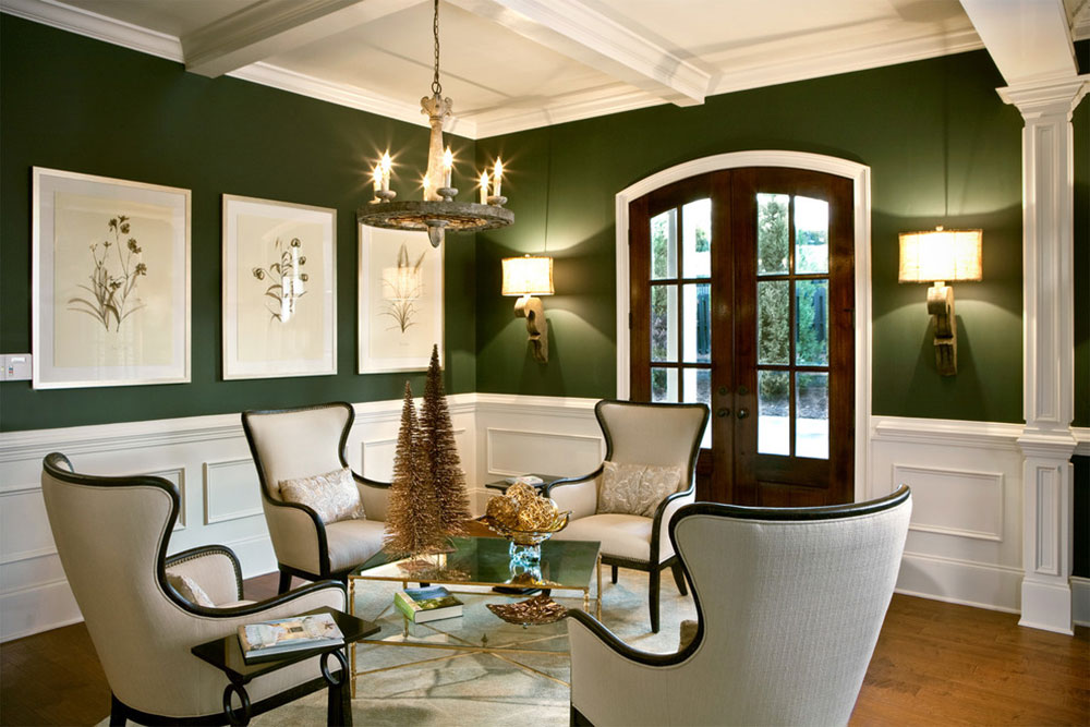 Brilliant shades of green for your living room19 Brilliant shades of green for your living room