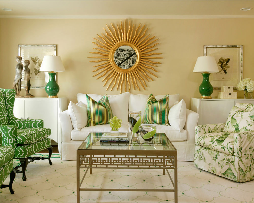 Brilliant shades of green for your living room13 brilliant shades of green for your living room
