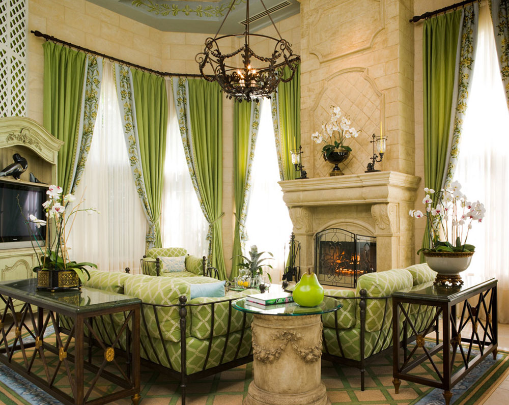 Brilliant shades of green for your living room15 brilliant shades of green for your living room