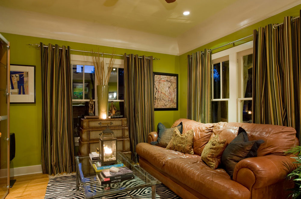 Brilliant shades of green for your living room 12 brilliant shades of green for your living room