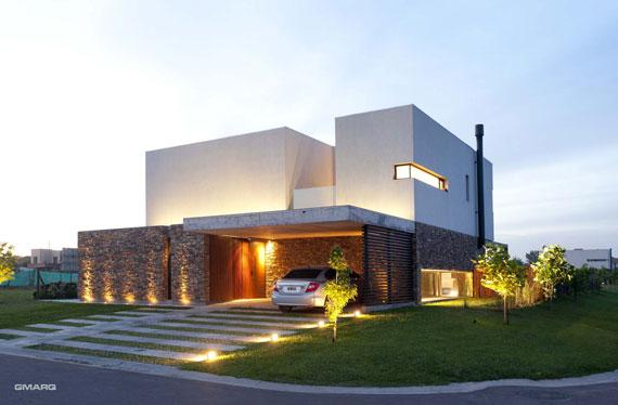 50025013261 Casa A in Argentina Designed by Estudio GMARQ