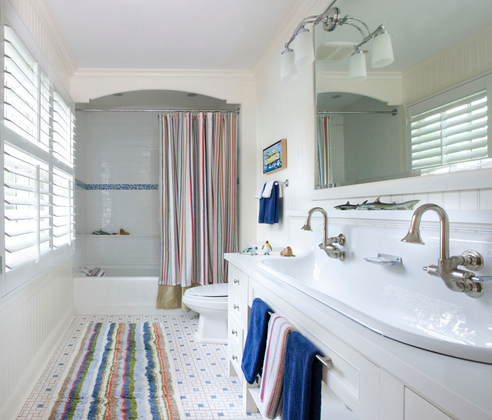 Enhance your bathroom look with trendy shower curtains14 trendy shower curtains for your bathroom